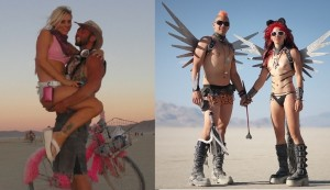 Burning Man couples